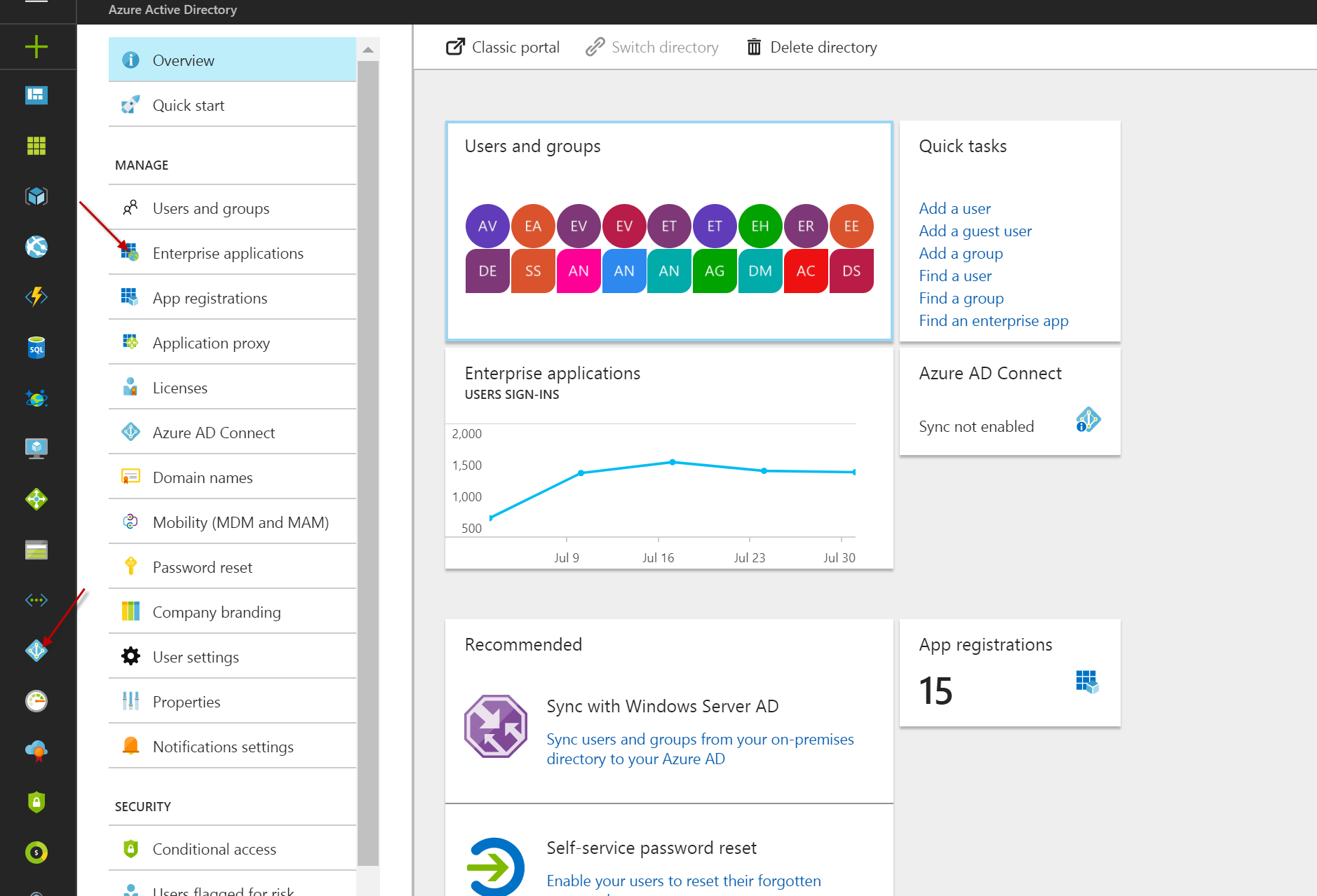 How to add a user in azure - Next You Click On All Applications And Add A New Application