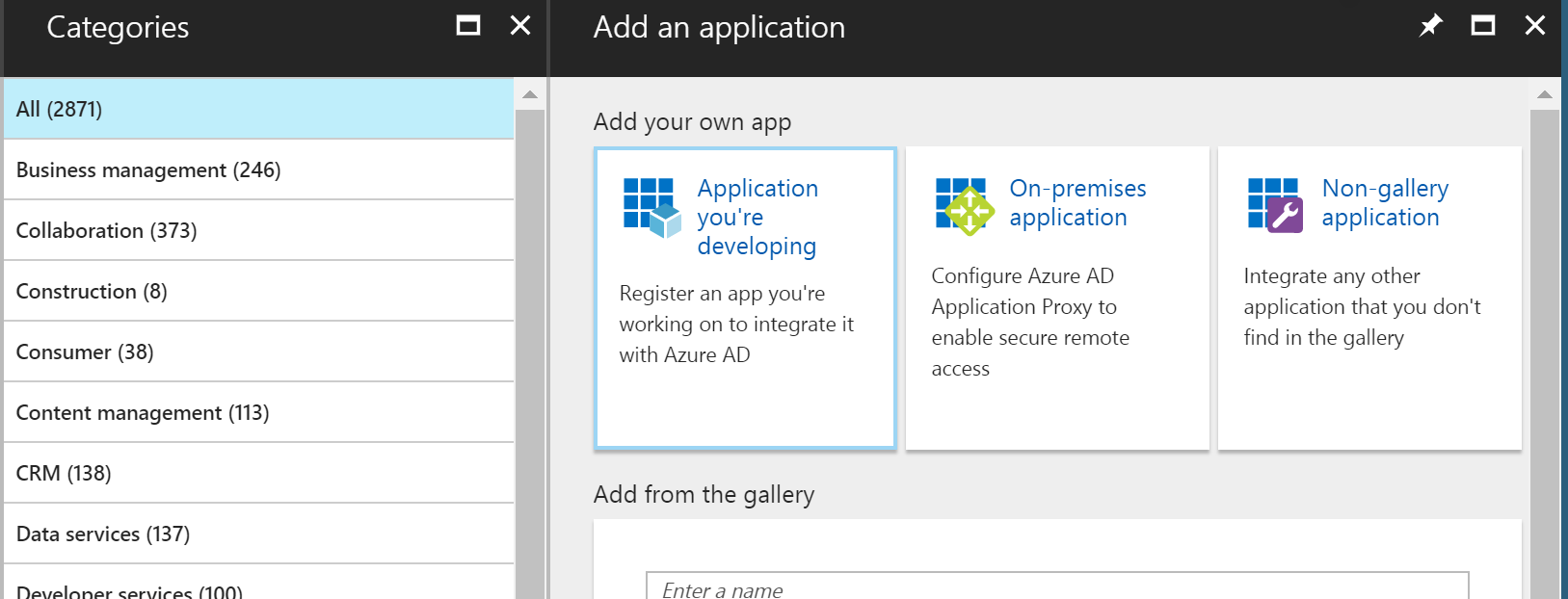 Integrate non-Azure AD gallery applications - Identity and Cloud